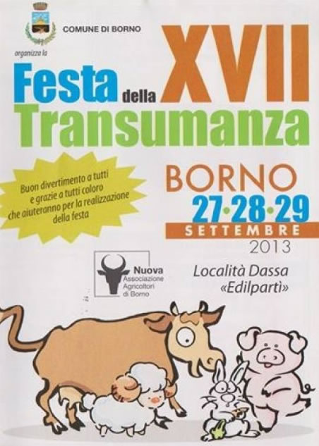 Festa della Transumanza a Borno