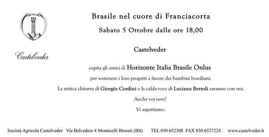 Horizonte Italia-Brasile Onlus a Monticelli Brusati