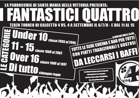 I Fantastici 4 a Brescia
