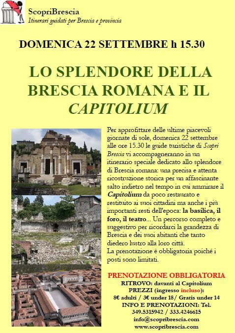 Lo Splendore della Brescia Romana e il Capitolium
