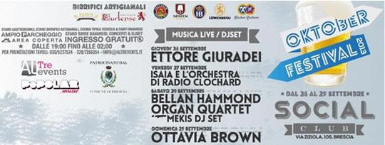Oktober Festival a Brescia