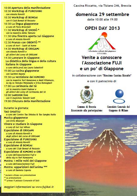 Open Day all' Associazione Fuji di Brescia