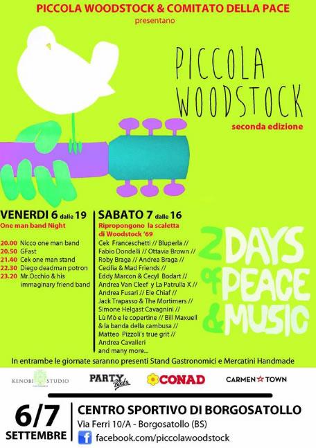 Piccola Woodstock a Borgosatollo