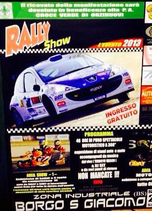 Rally Show 2013 Borgo San Giacomo
