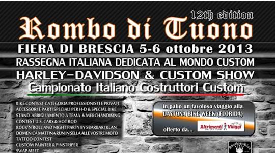 Rombo di Tuono a Brescia