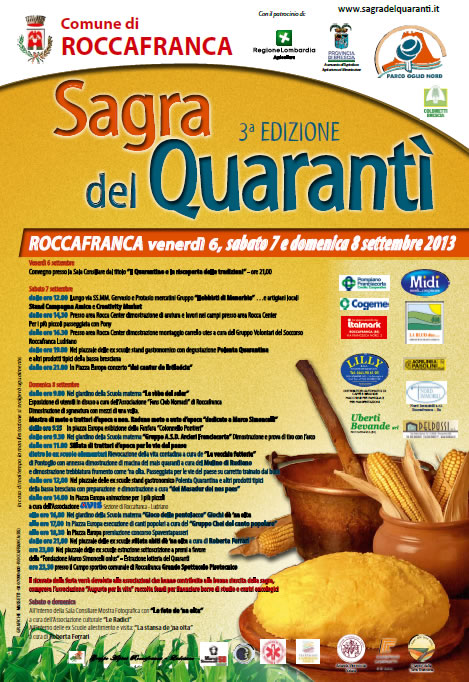 Sagra del Quaranti a Roccafranca