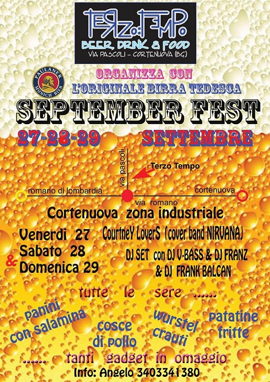 September Fest 2013 Cortenuova (BG)