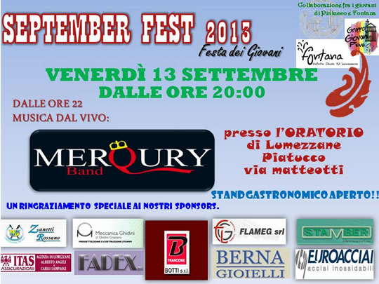 September Fest a Lumezzane