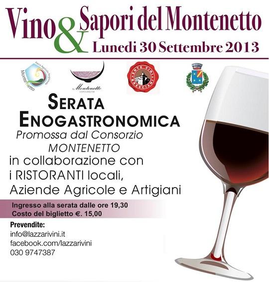 Vino e sapori del Montenetto 2013