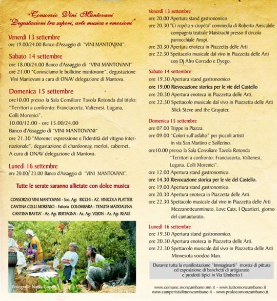 programma festa uva monzambano