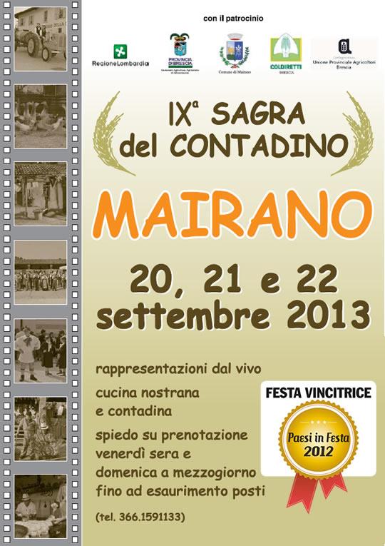 sagra del contadino 2013 Mairano