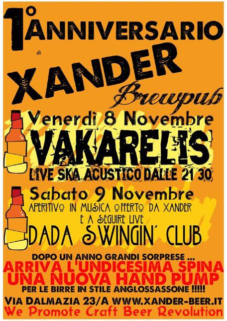1 Anniversario Xander a Brescia