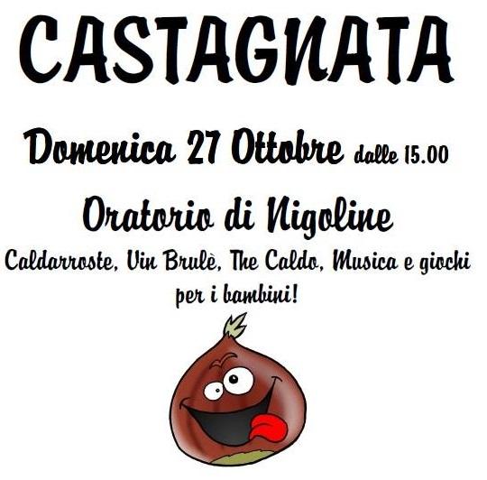 Castagnata in Oratorio a Nigoline 2013