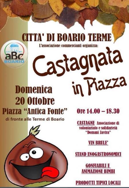 Castagnata in Piazza a Boario Terme