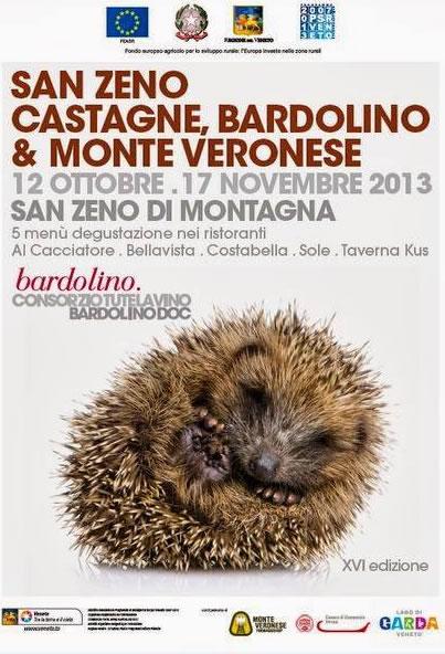 Castagne Bardolino e Monte Veronese a San Zeno di Montagna