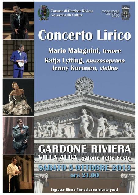 Concerto Lirico a Gardone Riviera