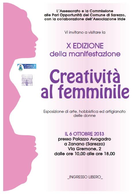 Creativita al Femminile a SarezzoCreativita al Femminile a Sarezzo