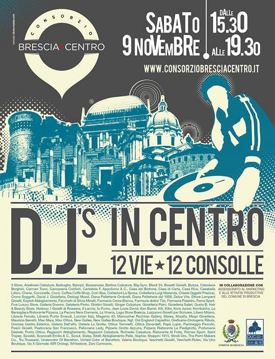 DJ's in centro 2013 Brescia