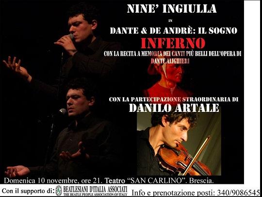 Dante e De Andrè  IL SOGNO - L INFERNO