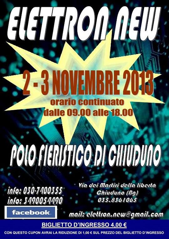 Elettron new 2013 Chiuduno