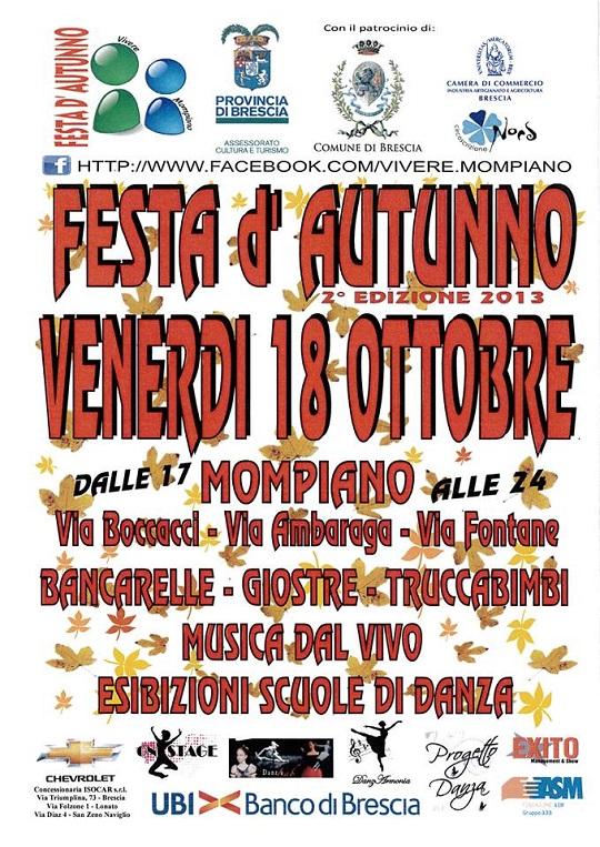 Festa d'Autunno 2013 Mompiano BS