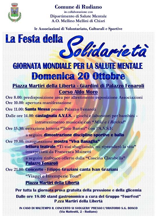 Festa della Solidarietà 2013 Rudiano 1