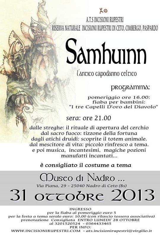 Festa di Samhuinn 2013 Nadro di Ceto