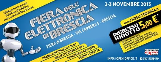 Fiera dell'Elettronica 2013 Brescia