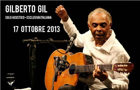 Gilberto Gil a Brescia