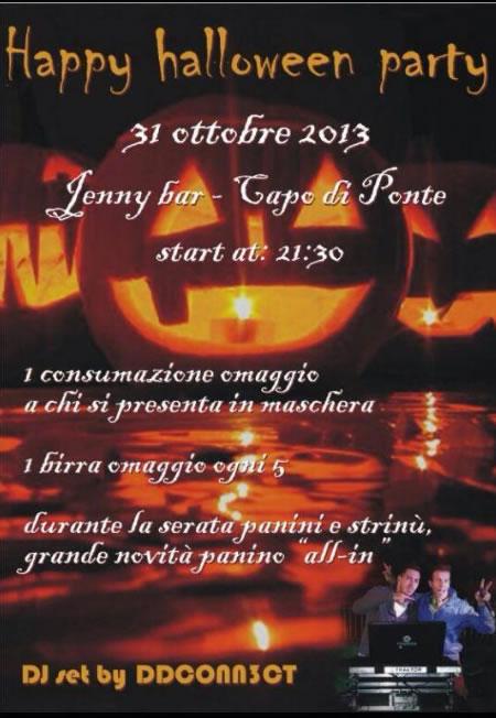 Happy Halloween Party a Capo di Ponte