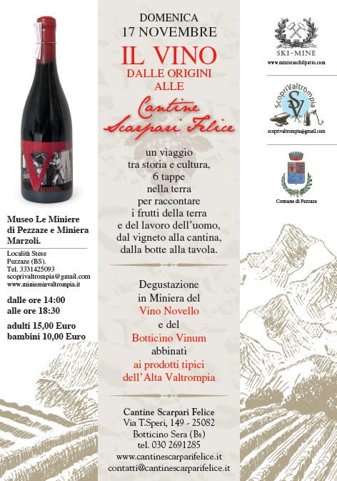 Il Vino dalle Origini alle Cantine a Pezzaze