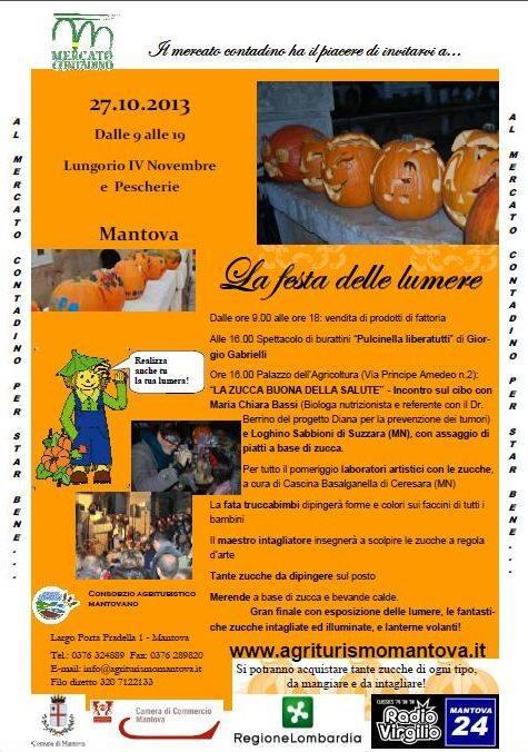 La Festa delle Lumere 2013 Mantova (MN)