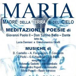 Meditazioni e Poesie su Maria a San Gervasio