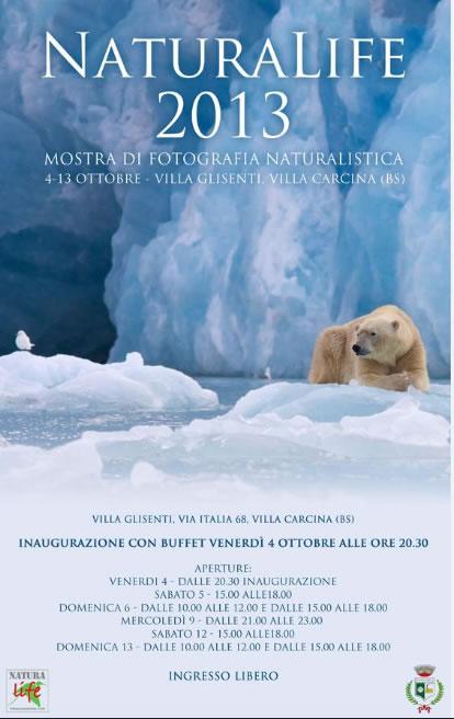 Mostra Fotografica Naturalife a Villa Carcina