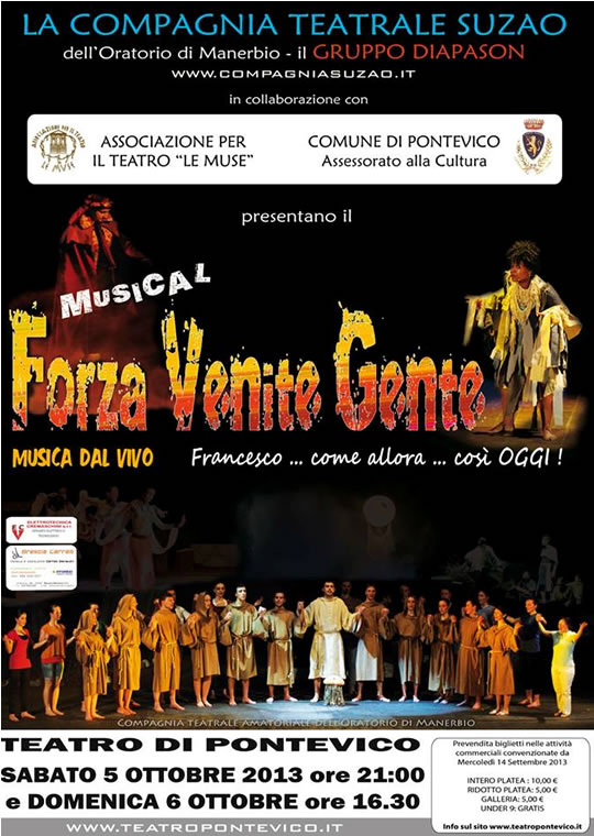 Musical Forza Venite Gente a Pontevico