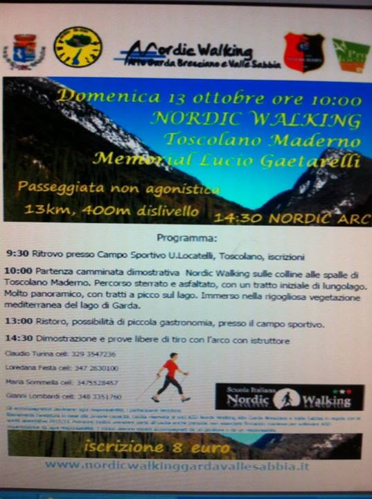 Nordic Walking a Toscolano Maderno