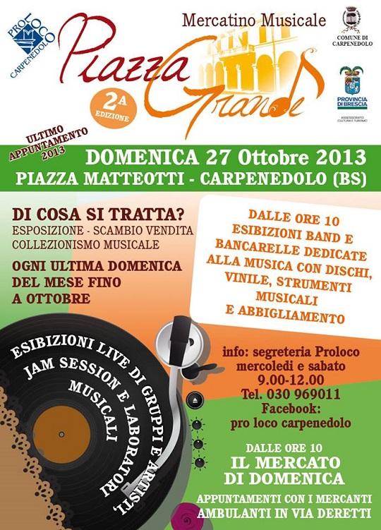 Piazza Grande 27 Ottobre 2013 Carpenedolo