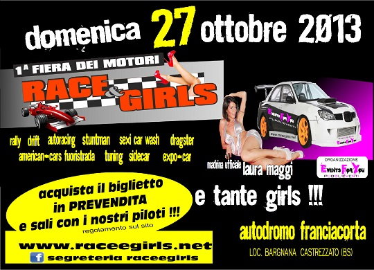 Race e Girls 2013 Castrezzato