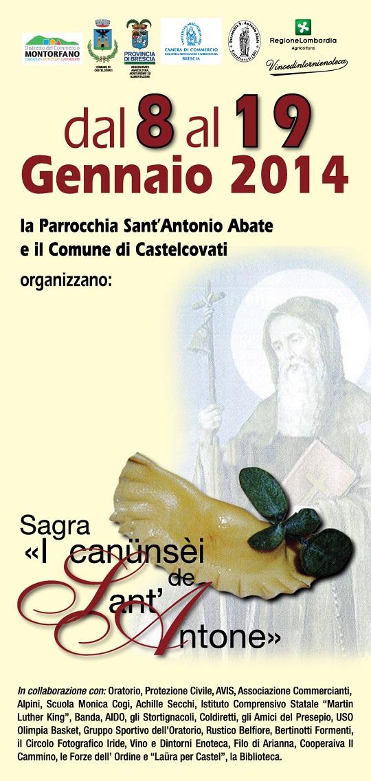 Sagra I CANUNSEI DE SANT'ANTONE Castelcovati 2014 - definitivo