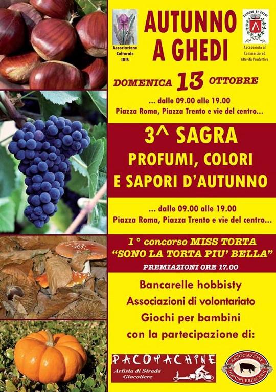 Sagra colori, profumi e sapori d'autunno Ghedi 2013