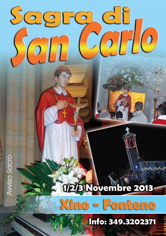 Sagra di San Carlo 2013 Fonteno