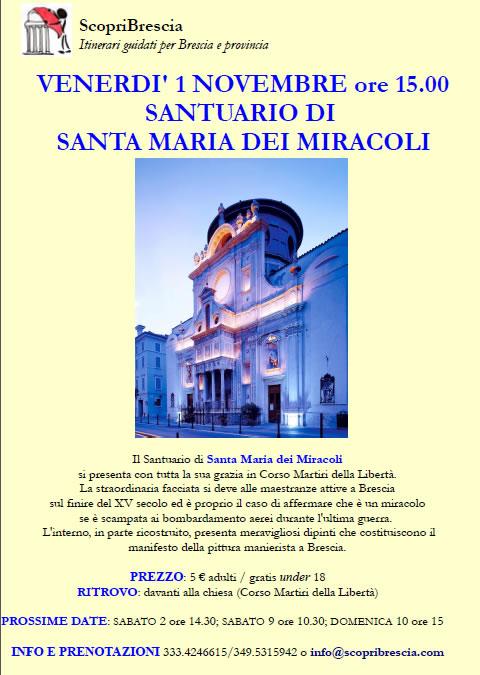 Santuario di Santa Maria dei Miracoli con ScopriBrescia