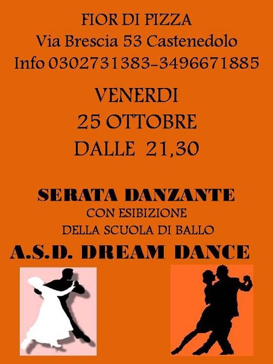 Serata Danzante in pizzeria a Castenedolo