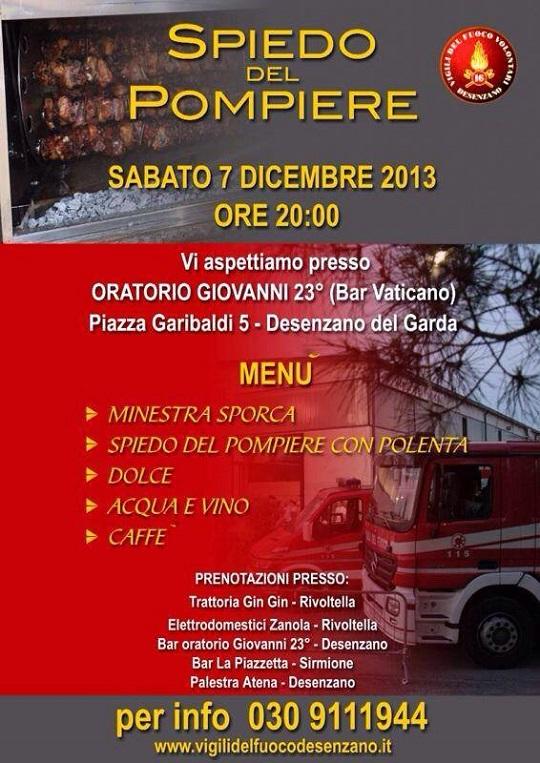 Spiedo del Pompiere 2013 Desenzano