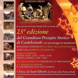 25 Grandioso Presepio Storico di Castelcovati 2013