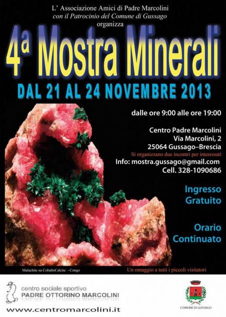 4 Mostra Minerali a Gussago