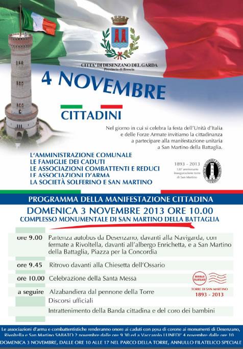 4 Novembre a San Martino della Battaglia