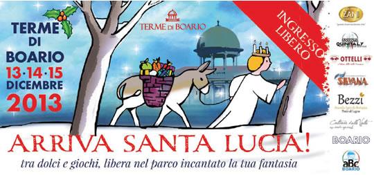 Arriva Santa Lucia a Boario