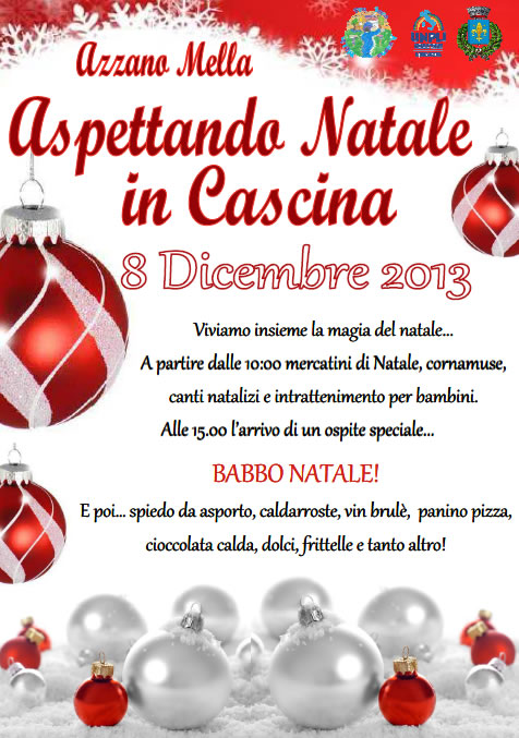 Aspettando Natale in Cascina Azzano Mella