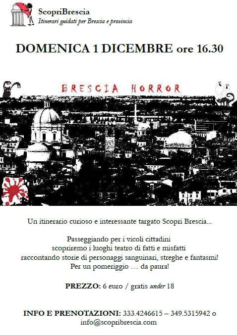 Brescia Horror con ScopriBrescia